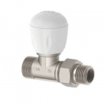 Радиаторен вентил прав FULL 1/2″, 24х19,  EMMETI.